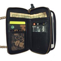 RELIC Vicky Collection Wristlet /& Shoulder Strap Wallet SAGE  New!