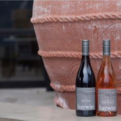 Happy Wine Wednesday #winefriends! Have you tried our Free Form and Wild Ferment? These are natural wines made with wild fermentation zero additives and extended skin contact in clay amphora. by haywirewine