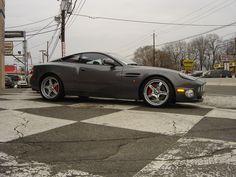 Gray Aston Martin