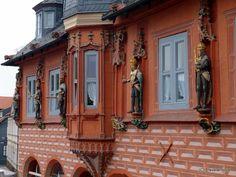 Guildhall Kaiserworth in Goslar, Germany Saxony Anhalt, Rhineland Palatinate, Lower Saxony, North Rhine Westphalia, 15th Century, Places Ive Been, Castle, Germany, Mansions