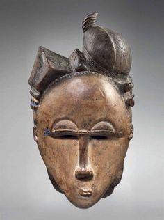 Baule Ndoma Mask, Ivory Coast