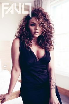 Jesy Nelson being posted in Fault Magazine!!!!