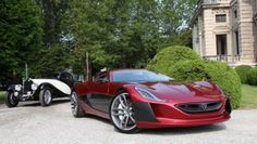 Rimac Concept One electric car