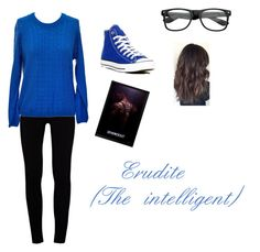 """""""Erudite outfit"""" by ashleyg-valenzuela ❤ liked on Polyvore featuring J Brand and Converse"""