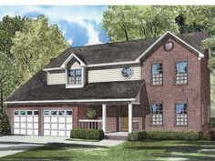 Eplans+Country+House+Plan+-+Combination+Exterior+-+2046+Square+Feet+and+4+Bedrooms+from+Eplans+-+House+Plan+Code+HWEPL55598