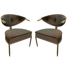 Pair of Chairs by Maurice Bailey for Monteverdi-Young, ca.1950's