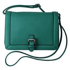 Merona Saffiano Crossbody - Green