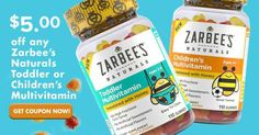 Zarbee's Naturals at Walmart Kids Vitamins - Healthy Life Skin Care Regimen, Skin Care Tips, Walmart Kids, Vitamins For Kids, Turmeric Health Benefits, Blueberry, Coupons, The Cure, Vitamin E