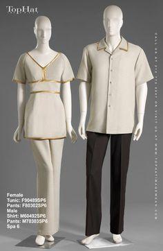 Housekeeping 601 627 uniformes pinterest for Spa housekeeping uniform