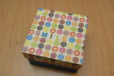 "Gift box ""Smile""  - Rezervat (15 LEI la pia792001.breslo.ro) Gift Boxes, Decorative Boxes, Smile, Gifts, Home Decor, Presents, Decoration Home, Wine Gift Sets, Room Decor"