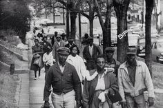 In Alabama the Montgomery Bus Boycott occurred led by Rosa Parks and MlK. This hoped to help african American Civil rights.