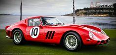 '62 Ferrari 250GTO, 3729GT at Pebble by Auto-Focused on 500px #Ferrari #GTO #Racing #Italian #California