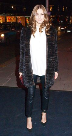 Olivia Palermo in London