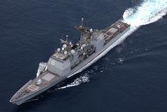 USS Lake Champlain (CG-57) - Ticonderoga class Cruiser (USA)