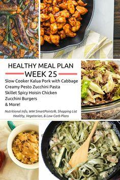 Healthy Meal Plans Week 25 - Slender Kitchen