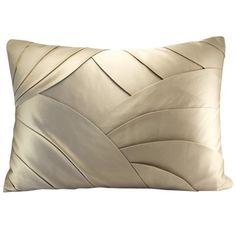 Dressmaker details on a silk pillow