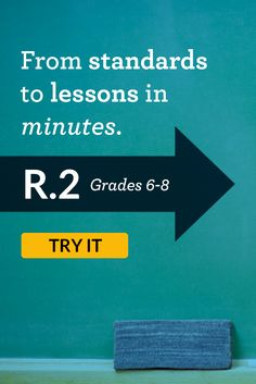 Free, standards-driven, short lessons for middle schoolers. Teacher-created, classroom-tested.