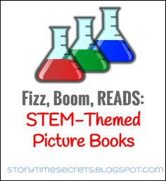 Story Time Secrets: Fizz Boom Reads: Picture Books related to science etc. Preschool Books, Science Books, Science Lessons, Preschool Literacy, Science Ideas, Science Classroom, Classroom Ideas, Library Books, Children's Books