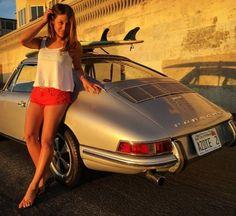 Porsche 911 Surf girl