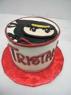 Hansen's Cakes: Ninja smash cake!