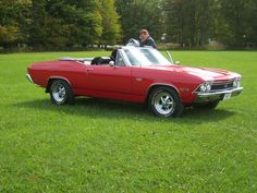 Make:  Chevrolet Model:  Chevelle Year:  1968 Body Style:  Convertible Exterior Color: Red Interior Color: Black Doors: Two Door Vehicle Condition: Excellent   For More Info Visit: http://UnitedCarExchange.com/a1/1968-Chevrolet-Chevelle-492884698841