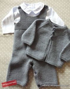 50 new ideas knitting patterns free cardigans kids boys yarns Baby Knitting Patterns, Baby Sweater Knitting Pattern, Baby Boy Knitting, Knitting For Kids, Baby Patterns, Free Knitting, Stitch Patterns, Baby Vest, Baby Pants