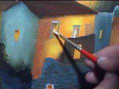 """Ζωγραφική με λάδια """"Βάθεια"""""""