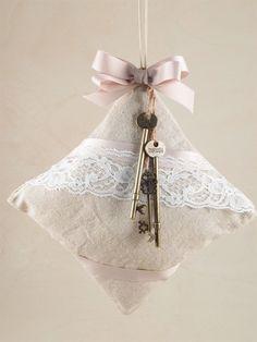 Idee per creare shabby #favor #wedding #Confirmation #Firstcommunion