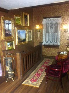 Beacon Hill dollhouse rooms - Google Search