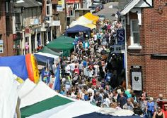 Crowborough Summer Fun Day - 31st May  Stalls are located in the High Street, Broadway and along Croft Road.