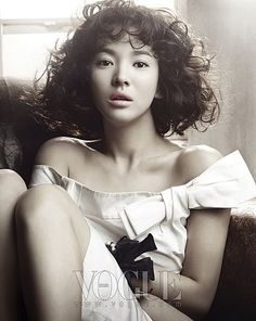 Song Hye Kyo in Vogue Korea