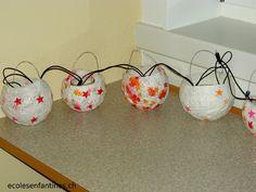 ondecole.ch - Rituels de l'Avent Arts, Christmas Crafts, Planter Pots, Advent Calendar, Lantern, Winter, Paper, Xmas Crafts