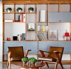 Colour Proposal-1 for book shelves & storage: White, Wood & Greyish Green /Blue