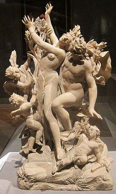 File:'Apollo and Daphne', terracotta sculpture by Massimiliano Soldani, c. 1700.JPG