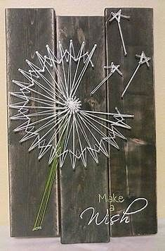 Image result for Dandelion String Art Pattern Printable