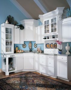 With The Timeless Style Of White Cabinetry, The Nantucket2 Door Style Is  Far From Plain