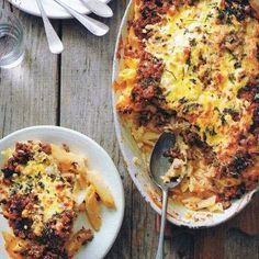Hobbykoken: Griekse gehaktschotel met pasta (pastitio)