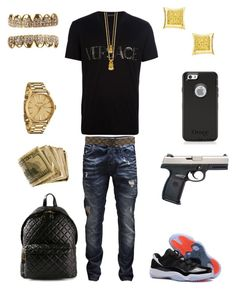 Teen Swag Outfits, Dope Outfits For Guys, Urban Outfits, Trendy Outfits, Teen Boy Fashion, Tomboy Fashion, Look Fashion, Rapper Outfits, Fresh Outfits