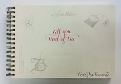 lettering / calligraphy / typography · all you need is tea