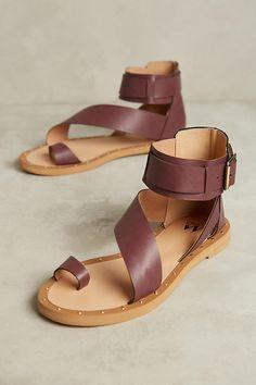 1c8d2c7e8d2 Slide View  1  Vanessa Wu Plum Gladiator Sandals Fab Shoes
