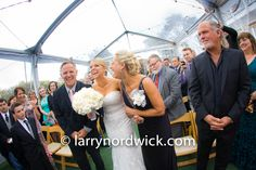Rainy day wedding at Perry House in Monterey photographed by Larry Nordwick/Creative Images Photography