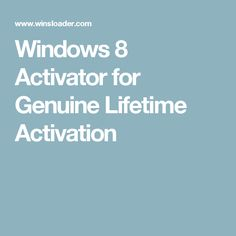 Windows 8 Activator for Genuine Lifetime Activation New York Journal, Windows 8, Software, Patches, Activities, Books, Pdf, Free, Libros