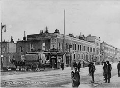 Old Rotherhithe 193 Lower Road 1900 Vintage London, Old London, Road Pictures, London Places, South London, London Street, Antique Prints, Historical Photos, Street View
