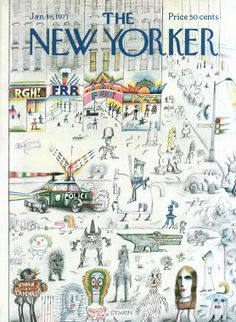 Saul Steinberg | The New Yorker Covers