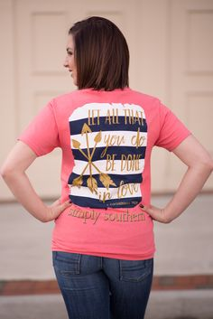 Simply Southern In Love Tee