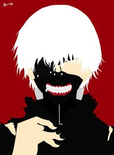Minimalist Art: Kaneki Ken by SpellsEmp on DeviantArt