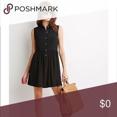 ISO Size Small Forever 21  Hi! Please let me know if your selling the forever21 crepe collared button dress in a size small. I have a size medium but it fits too big. Thanks! Forever 21 Dresses