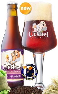 Our New Beer: Urthel Samaranth 11,5° Available at http://store.belgianshop.com/special-beers/1640-urthel-samaranth-115-13l.html Urthel Samaranth 12 Quadrium Ale is a malty, full-bodied special Ale, brewed in a way that only Belgian Brewers can. Clear toffee brown with ruby highlights and good off-white head. Subtle and pleasant caramel aroma. Fantastic palate - slightly creamy, very slightly sticky, plenty of body with excellent carbonation that is both mouthfilling and bright. Taste is of