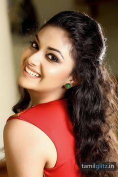 Keerthi Suresh aka Keerthy Suresh is an actress in the South Indian film industries. Keerthy was a child actress in the . Bollywood Actress Hot Photos, Tamil Actress Photos, Beautiful Bollywood Actress, Most Beautiful Indian Actress, Beautiful Actresses, Bollywood Style, Lovely Girl Image, Most Beautiful Faces, Beautiful Flowers