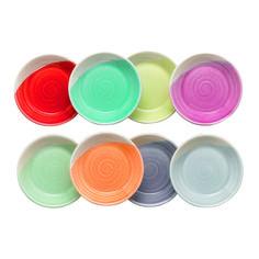 Casual tapas dip trays